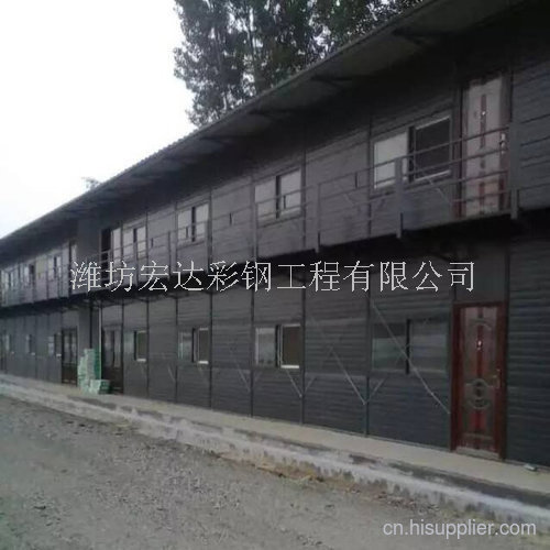 山东双层板房框架厂家
