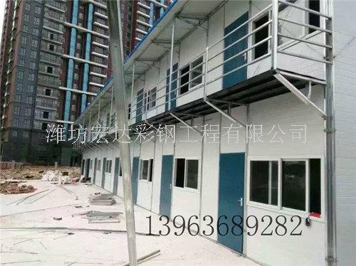 江苏框架彩板房材料-山东宏达复合板厂