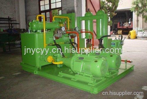 紡織機械液壓系統