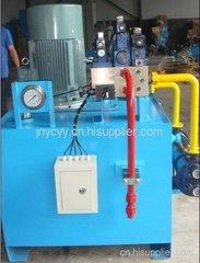 角鋼、鋼廠鐵塔設備用液壓站