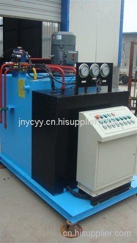 億辰液壓石灰窯爐液壓站|山東液壓站、油缸