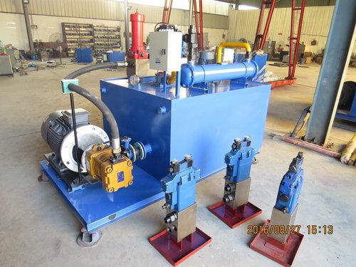 山东制造免烧砖机液压系统