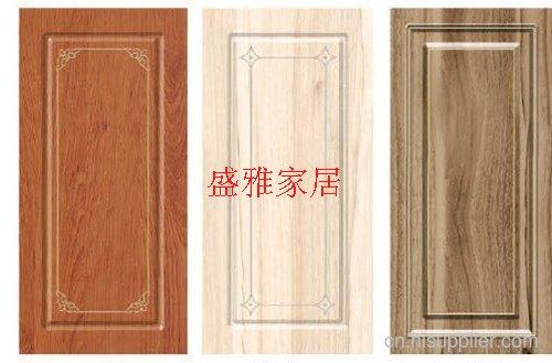盛雅整体家居同色橱柜平开门 板材定制家具