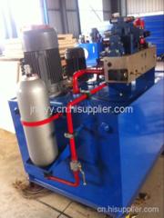 濟南酚醛聚氨酯絕緣板設備用液壓站