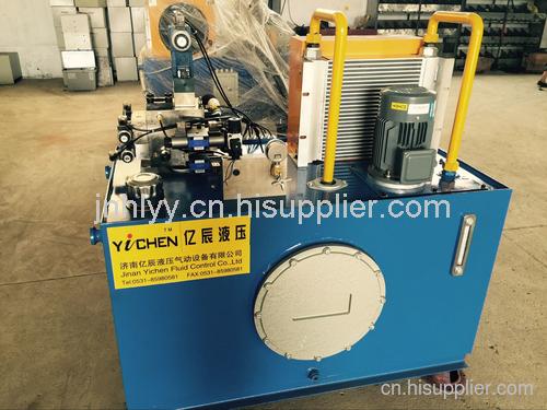 青島紡織機械用液壓站