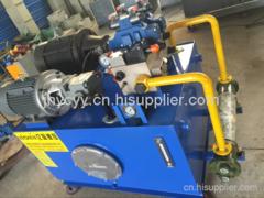 恒力生产开卷矫平设备用液压站