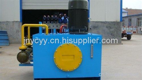 恒力生产造纸机械用液压站