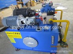 恒力生产钢厂设备用液压站
