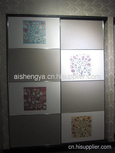 盛雅时尚设计 覆膜多层板家居衣柜橱柜门板材及装饰面板