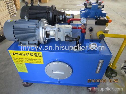 恒力制造钢厂滑动水口液压站