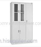 白色钢柜子