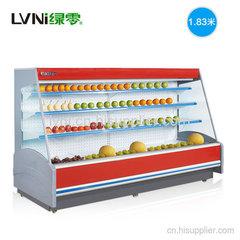上海1.83米分体机水果蔬菜风幕柜超市展示冷柜
