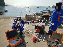 大连港矿石码头水下检测
