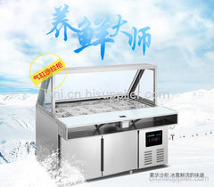 不锈钢沙拉工作台冷柜