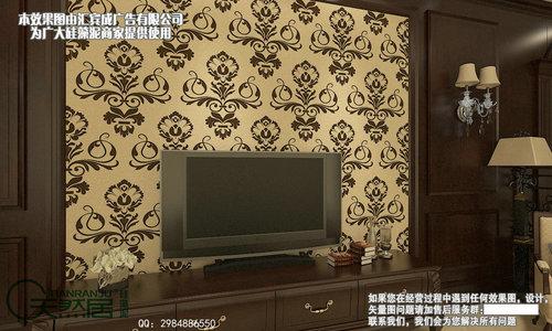 首頁 建筑和裝飾材料 裝飾材料 壁紙 客廳背景墻硅藻泥效果圖