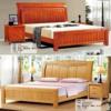 福州板式床实木床
