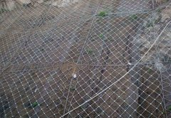 貴陽邊坡柔性護欄網的安裝步驟