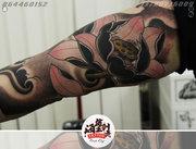 海盗王纹身刺青店纹身案例