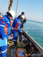 大连长海县哈仙岛、塞里岛、乌莽岛码头检查探摸