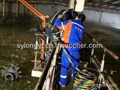 黑龙江齐齐哈尔暖气池内、暴气头水下拆除顺利完成