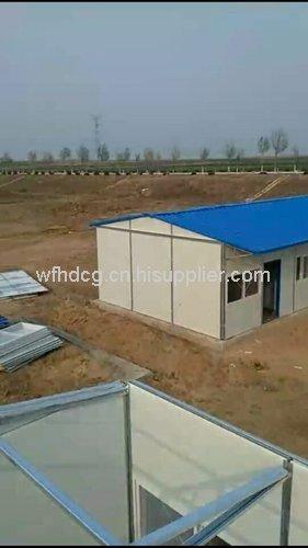 潍坊框架板房材料安装