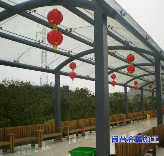 首页 钢结构产品 廊架 廊架