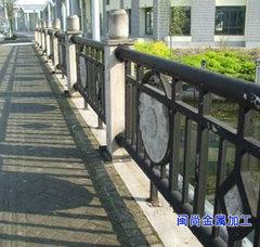 橋梁人行道公路欄桿立柱