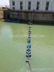 横跨40米水相清淤