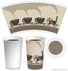 泉州咖啡纸杯印刷_泉州一次性咖啡杯印刷批发价
