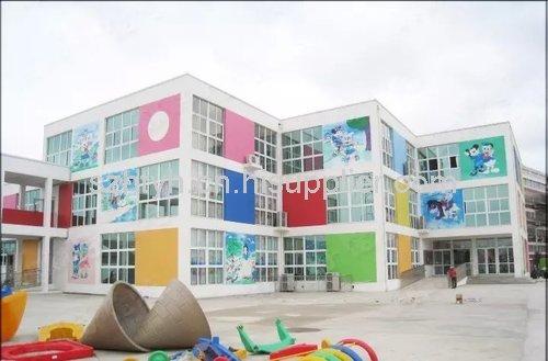 白云幼儿园手绘墙