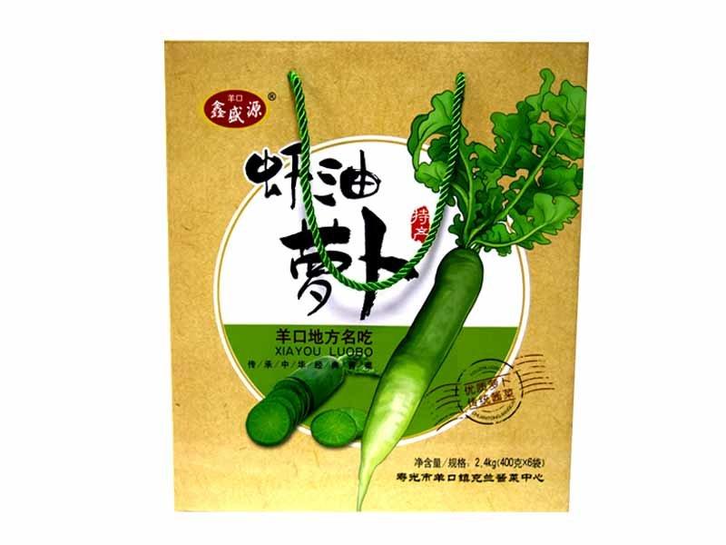 潍坊地区哪里有卖优质虾油萝卜礼盒山东虾油萝卜