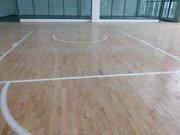黄果树民族中学篮球馆铺设案例