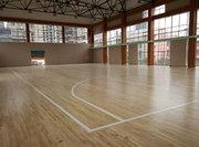贵阳市实验二中运动木地板铺设案例