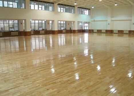 贵阳体育木地板保养