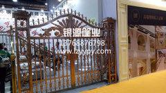 广西柳州铝艺门不锈钢门