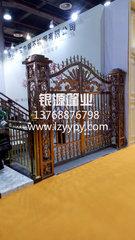 广西柳州铝艺门不锈钢门.