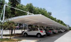 西宁膜结构停车棚多少钱