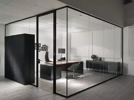 办公玻璃隔断的优势