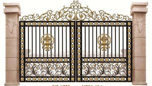 柳州铝艺门——铝艺栏杆与铁艺栏杆的区别