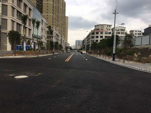 兴义市B2路照灯革新工程