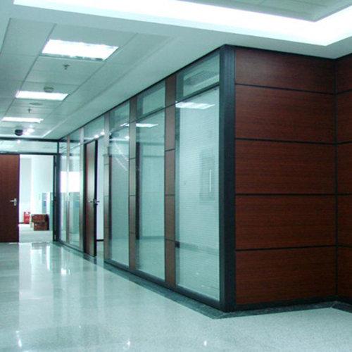 上海办公室玻璃墙订做