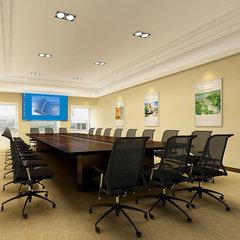 上海商務科技公司會議室