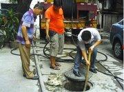 西安专业低价高压清洗,抽粪及清理化粪池,管道疏通