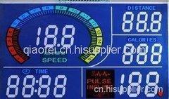绍兴带LED显示屏的跑步机仪表