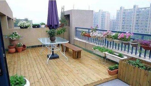 木阳台工程案例
