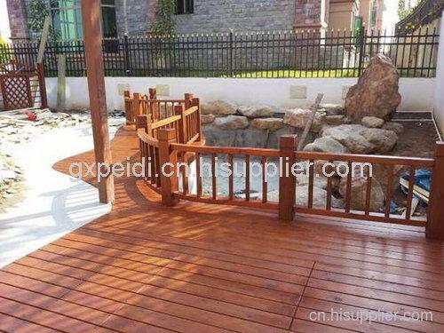 柳州防腐木地板材料批发