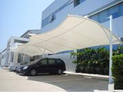 膜结构车棚对于汽车具有哪些保护作用呢?