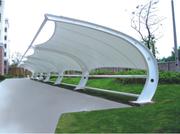 停车场建设为何都选择膜结构车棚呢?