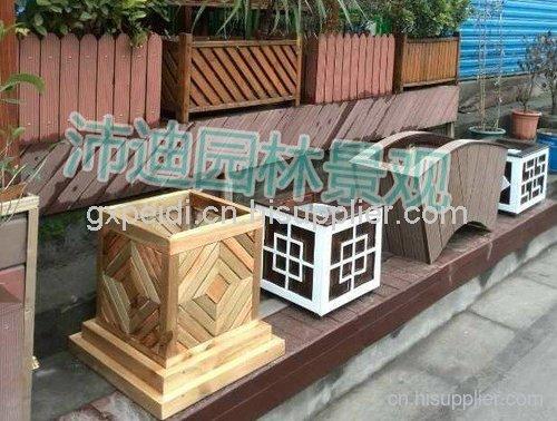 柳州市户外木花箱