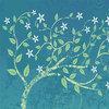 绿树图案鼠标垫